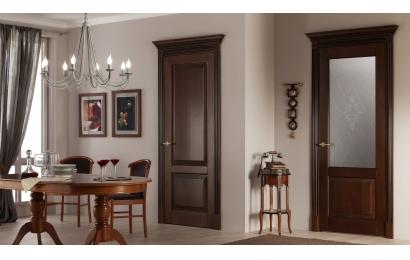 Двери деревянные и шпонированные