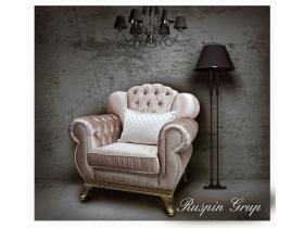 Кресло Милан с пуговицами